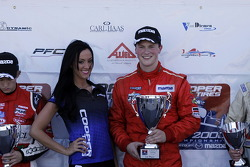 USF2000: Race winner Scott Hargrove