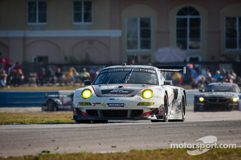 #48 Paul Miller Racing Porsche 911 GT3 RSR: Bryce Miller, Marco Holzer, Richard Lietz