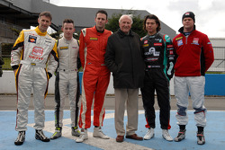 Jack Sears with the competitors that will compete for the Jack Sears trophy