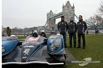 Strakka LMP1. Nick Leventis, Danny Watts and Jonny Kane