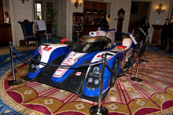 The Toyota TS030 Hybrid on display