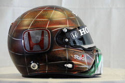 Helmet, Gabriele Tarquini, Honda Civic, Honda Racing Team J.A.S.