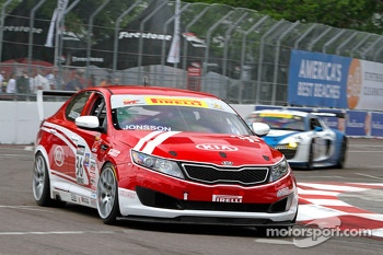 Nic Jonsson, Kinetic/Kia Racing/Russell Smith/Kia Motors America/Kia Optima