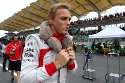 Max Chilton, Marussia F1 Team on the grid