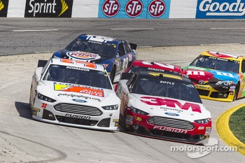 Ken Schrader and Greg Biffle