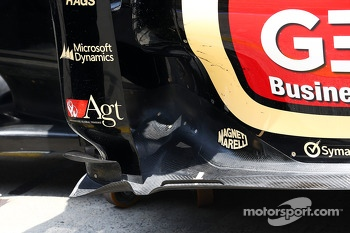 Lotus F1 E21 floor detail