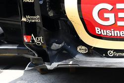 Lotus F1 E21 floor detail