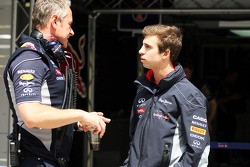 Jonathan Wheatley, Red Bull Racing Team Manager with Antonio Felix da Costa, Red Bull Racing Reserve Driver. - www.xpbimages.com, EMail: requests@xpbimages.com - copy of publication required for printed pictures. Every used picture is fee-liable. © Copyri