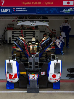 #7 Toyota hybrid in the garage