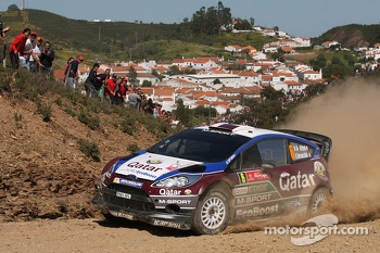 Nasser Al-Attiyah, Giovanni Bernacchini, Ford Fiesta WRC