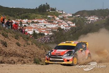 Martin Prokop, Jan Tomanek, Ford Fiesta WRC