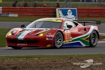 #61 AF Corse Ferrari 458 Italia: Jack Gerber, Matt Griffin, Marco Cioci