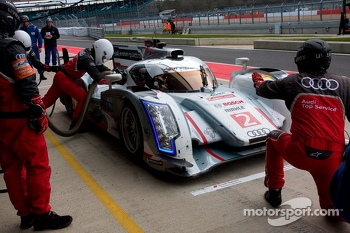 #2 Audi Sport Team Joest Audi R18 e-tron quattro: Allan McNish, Tom Kristensen, Loic Duval