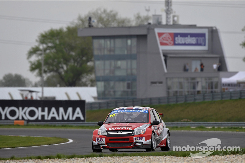 Qualifying,James Thompson, Lada Granta, LADA Sport Lukoil