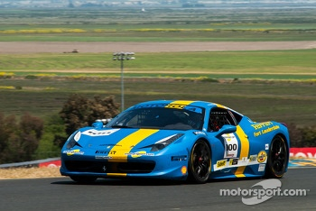 #100 Ferrari of Ft Lauderdale 458CS: Hendrik Hedman