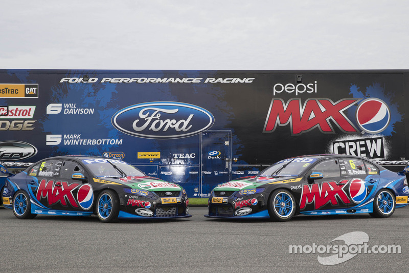 Ford Performance Racing livery unveil