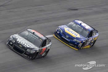 Kurt Busch and Martin Truex Jr.