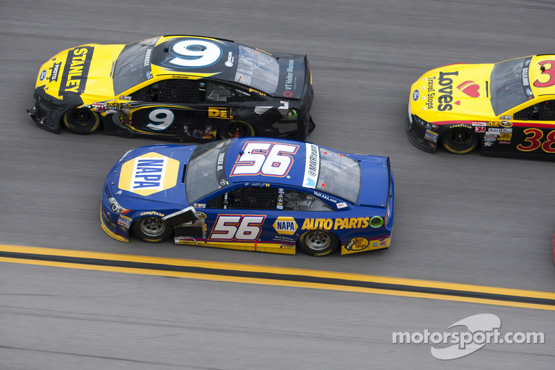 Marcos Ambrose and Martin Truex Jr.