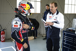 Sébastien Loeb tests the Peugeot 208 T16