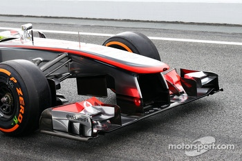 Sergio Perez, McLaren front wing