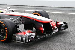 Sergio Perez, McLaren front wing
