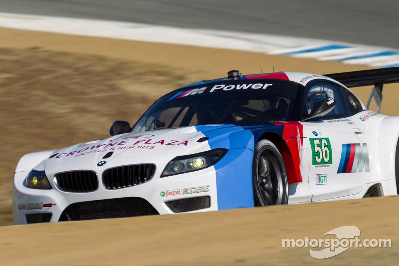 #56 BMW Team RLL BMW E92 M3: Dirk Müller, John Edwards