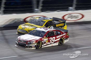 Ryan Newman and Marcos Ambrose