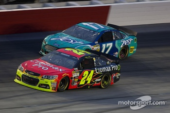Jeff Gordon and Ricky Stenhouse Jr.