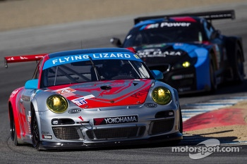 #44 Flying Lizard Motorsports Porsche 911 GT3 RSR: Pierre Ehret, Dion von Moltke