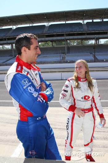 Justin Wilson and Pippa Mann
