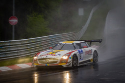 #9 Black Falcon Mercedes-Benz SLS AMG GT3 (SP9): Bernd Schneider, Jeroen Bleekemolen, Sean Edwards, Nicki Thiim
