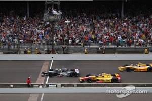 Tony Kanaan, KV Racing Technology Chevrolet takes the win