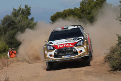 Khalid Al Qassimi and Scott Martin, Citroën DS3 WRC, Citroën Total Abu Dhabi World Rally Team