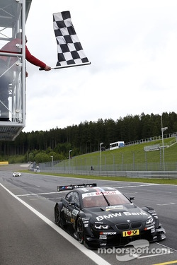 Bruno Spengler, BMW Team Schnitzer BMW M3 DTM takes the win