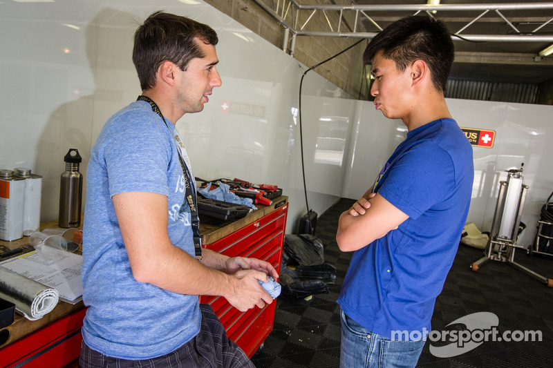 Neel Jani and Congfu Cheng