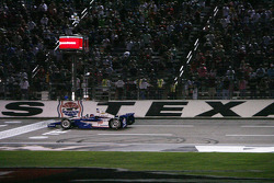 Helio Castroneves, Team Penske Chevrolet takes the win