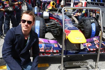 Michael Fassbender, Actor on the grid