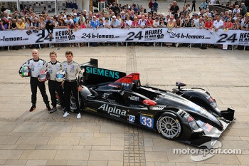 #33 Level 5 Motorsports HPD ARX-03b: Scott Tucker, Ryan Briscoe, Marino Franchitti