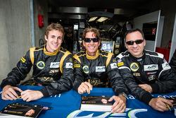 James Rossiter, Kevin Weeda, Christophe Bouchut