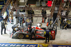 Pit stop for #13 Rebellion Racing Lola B12/60 Coupe Toyota: Mathias Beche, Congfu Cheng, Andrea Belicchi