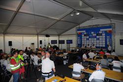 Press conference, Citroen joins WTCC,, WTCC General Manager, Yves Matton, Director Citroen Racing and Xavier Mestelan pinon, Tech. Director Citroen Racing