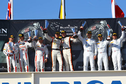 PRO-AM winners David Dermont, Koen Wauters, Frederic Vervisch, McLaren MP4-12C