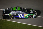 Denny Hamlin, Joe Gibbs Racing Toyota after the crash