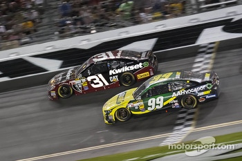 Carl Edwards and Jeff Burton