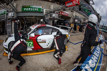 #92 Porsche AG Team Manthey Porsche 991 RSR: Marc Lieb, Richard Lietz, Romain Dumas