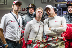 Emanuele Pirro, Allan McNish and Tom Kristensen