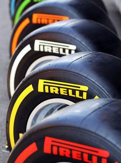 Pirelli tyres on show