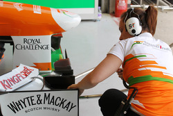 Sahara Force India F1 Team mechanic