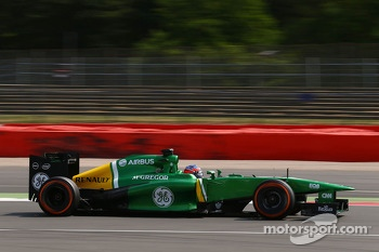 Will Stevens, Caterham CT03 Test Driver