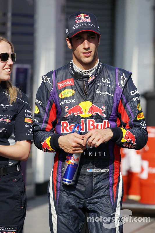 Daniel Ricciardo, Red Bull Racing Test Driver